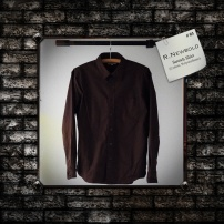 R.NEWBOLD : Stretch Shirt (Cotton, Polyurethane)