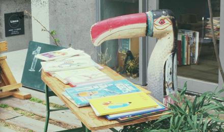 Large bird figurine