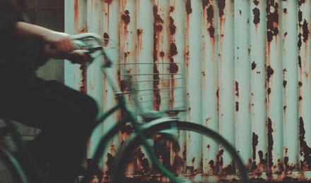 Bicycle pass through