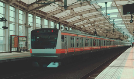 Platform and roof