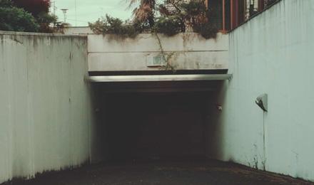 Entrance of underground facility