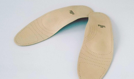 Leather insoles