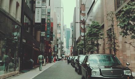 Cloudy street