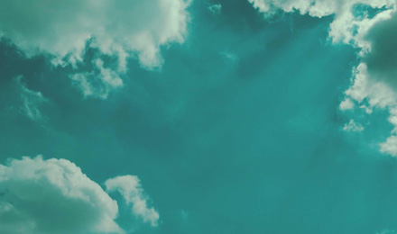 Clouds frame