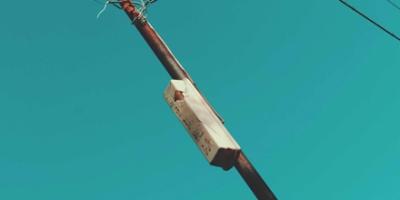 Rusty pole