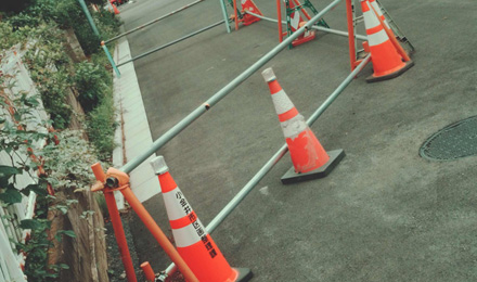 Cones and barriers