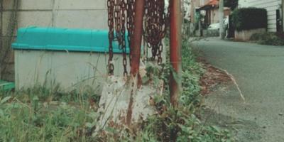 Rusty shovel