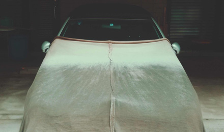 Half-size car cover