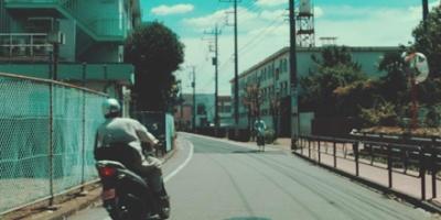 Denshako-dori street