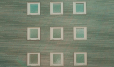 Nine windows