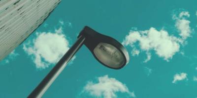 Daytime street light