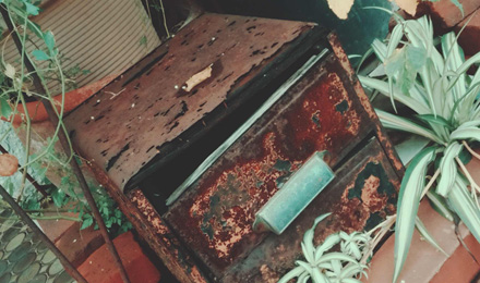 Rusty drawer