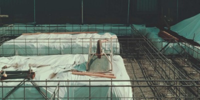 Steel frame foundation