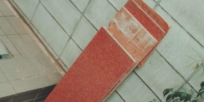 Colored cement board