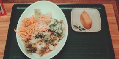 Udon noodle salad